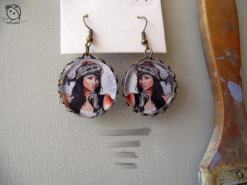 Boucles d oreille boucles d oreilles pendantes bronze 5492603 aurelie bb4ce big