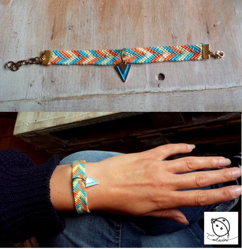 Bracelet triangle 1