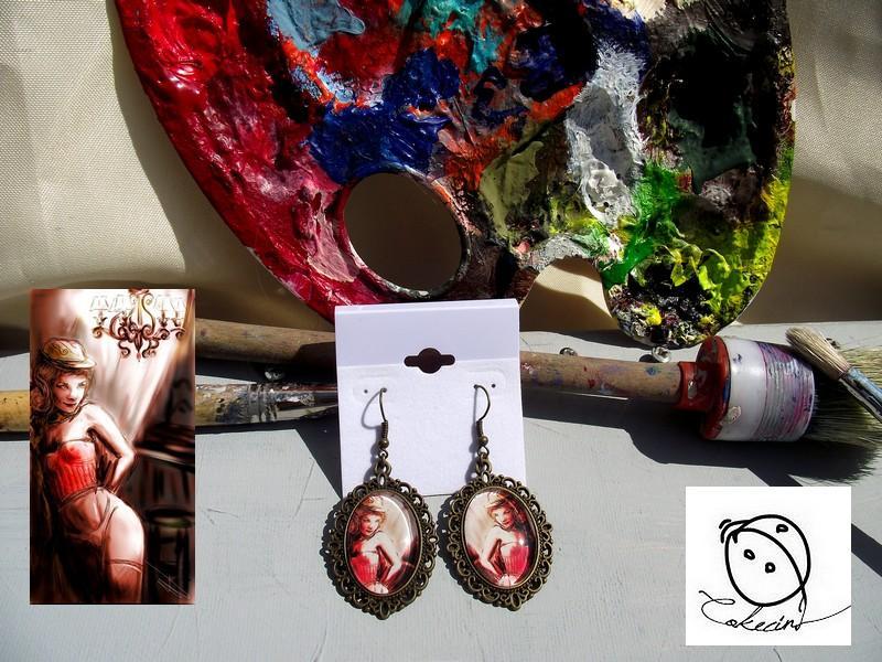 Cabaret pendantes ovales b