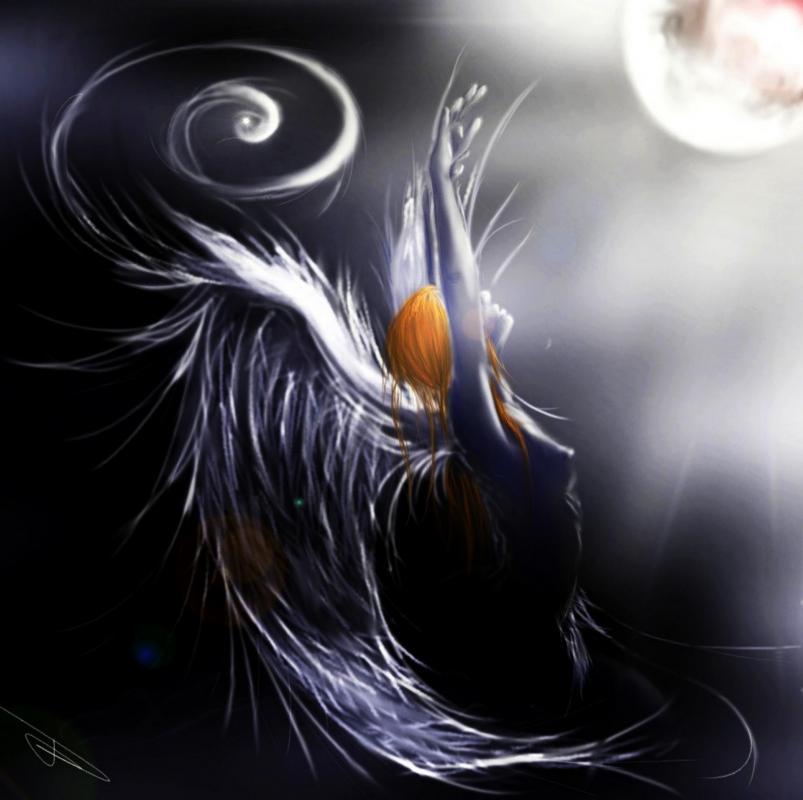 Eblouissement de l ange